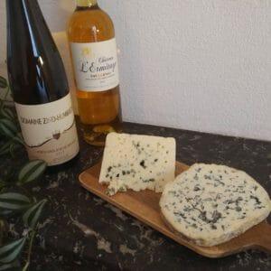 Association vin moelleux et bleu ? Je dis oui !