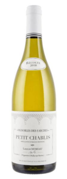 bouteille de vin blanc chablis
