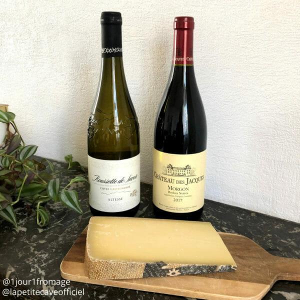 meilleurs vin rouge et blanc avec le Gruyère Suisse